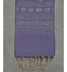 Fouta khomsa lila Lavendel