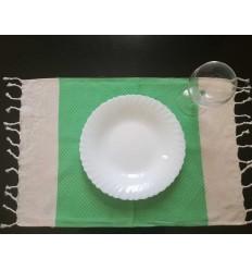 Mini Serviette grün