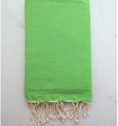 FOUTA waben vereinigt Primär grün