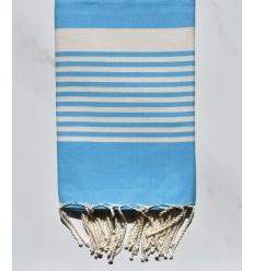 Strandtuch arthur himmlisch blau