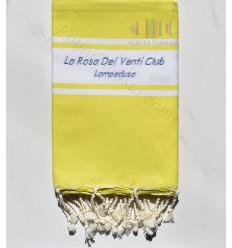 Fouta broderie La Rosa Dei Venti Club LAMPEDUSA