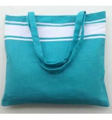 Strandtasche fouta himmlisch blau