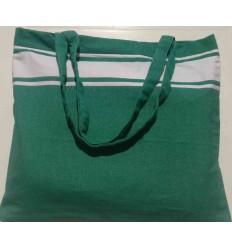 Strandtasche grün
