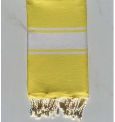 Fouta Platte gelb