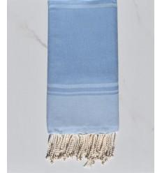 Strandtuch RAF-RAF blaue Kornblume und blauer Himmel