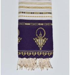 Strandtuch khlela lila Bizantium