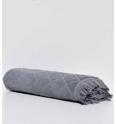 Badetücher Elyssa graue Farbe