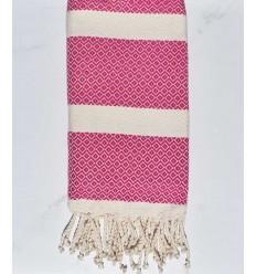 Strandtuch chevron Fuchsia Pink