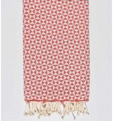 Fouta Schmetterling roter