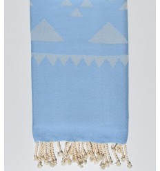 Strandtuch bohémian Blaues