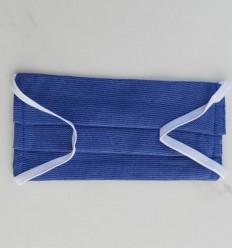 Schutzmaske blau