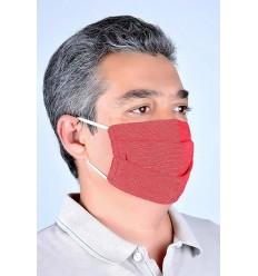 Schutzmaske rot